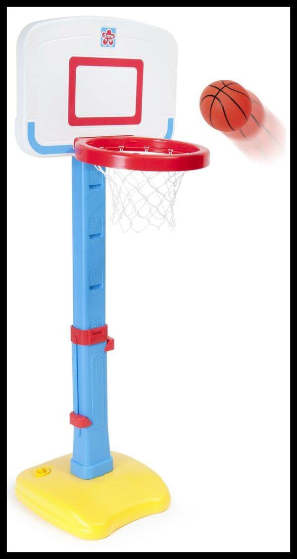 Toys Grow n up Jump 'n Dunk Basketball – Blue