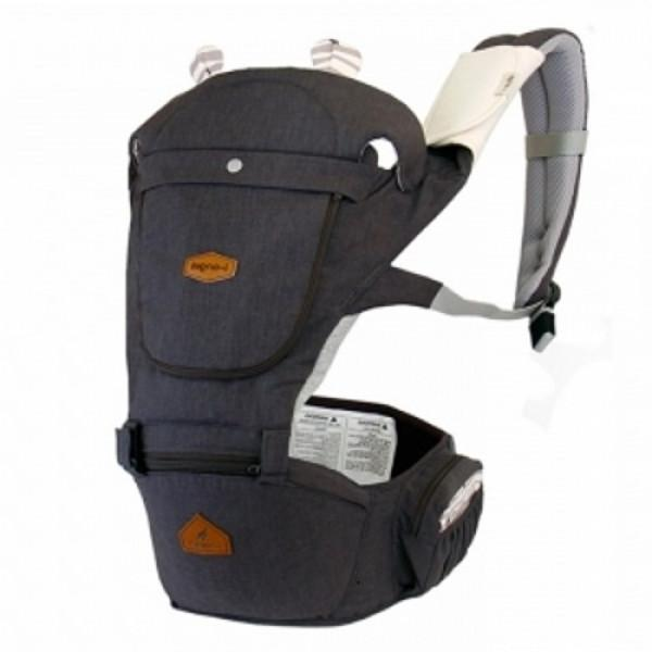 i-Angel Hello Hipseat Baby Carrier – Charcoal