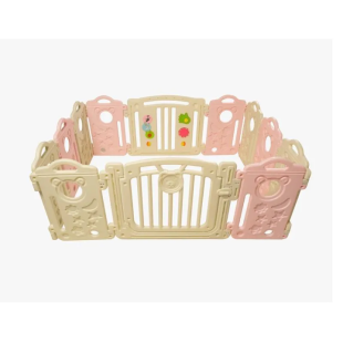 Dimora Baby Fence Play 10 + 2 – Pink
