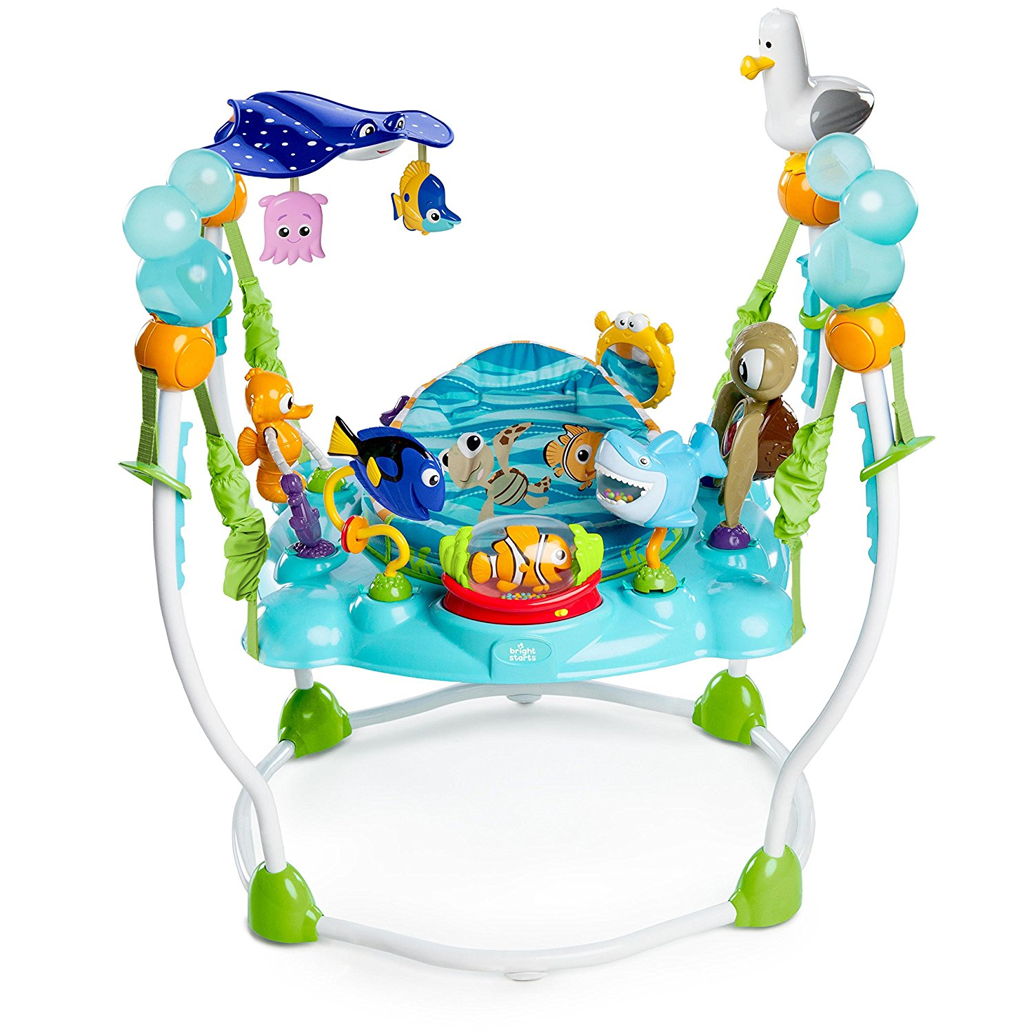 Toys Bright Starts Disney Baby Finding Nemo Oh Sea Activities Jumperoo