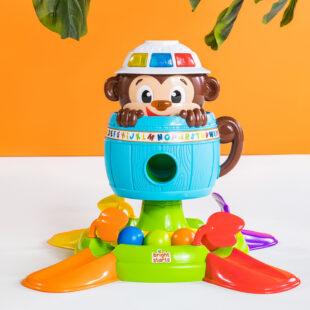 Toys Bright Starts Hide and Spin Monkey