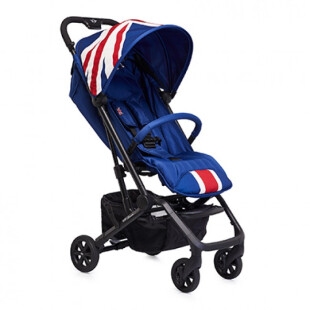 Cabin Size Easy Walker Mini XS – Union Jack Classic Blue