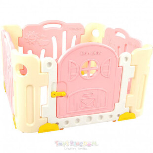 Safety EduPlay Good Baby Room Park Playpen – Pink