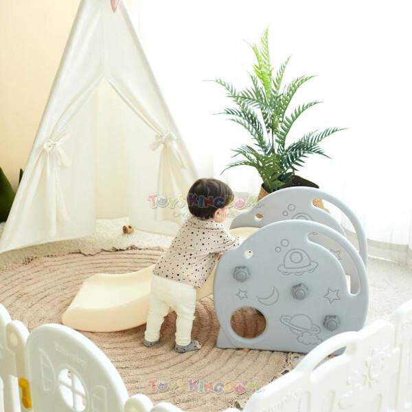 Toys Eduplay Rocket Slide – White