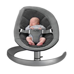 Bouncer & Swing Nuna Leaf Curv – Cinder