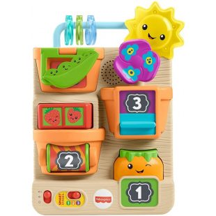 Fisher Price Laugh & Learn Peek & Play Busy Garden Toy