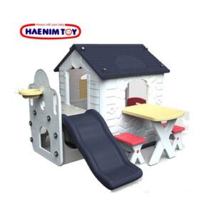 Toys Haenim Fun Park Playhouse & Slide – Navy