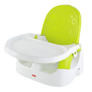 Gear Fisher Price Quick Clean 'n Go Booster Seat – Green