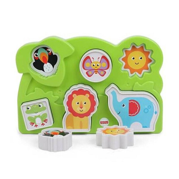Toys Fisher Price Jungle Animal Puzzle