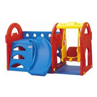 Toys Haenim Little Castle Slide and Swing
