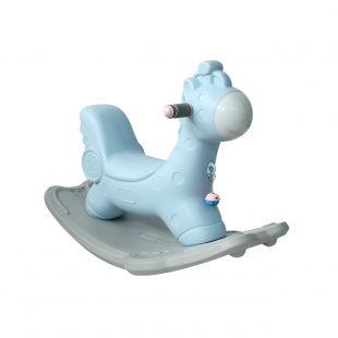 Happy Play Rocking Giraffe – Blue