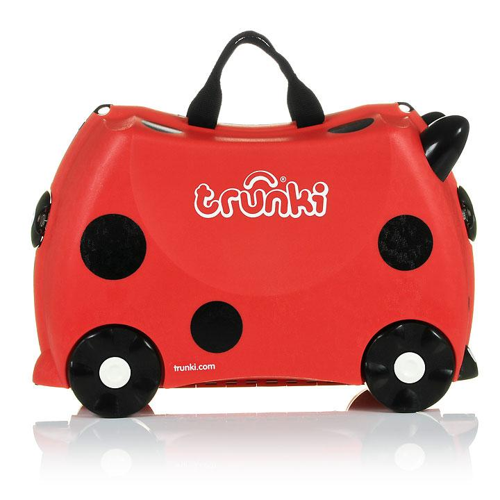 Gear Trunki Harley Ladybird Ride-On Luggage