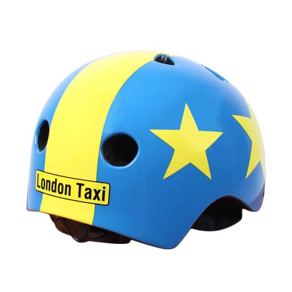 Toys London Taxi Kids Helmet – Star Blue Yellow