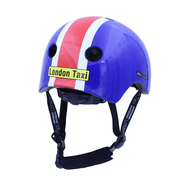 Toys London Taxi Kids Helmet – Blue