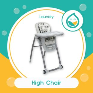 Laundry High Chair – Bubble Clean (Noda Ringan)