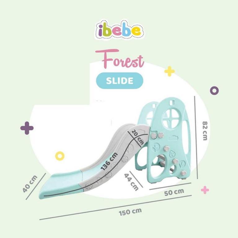 Toys Ibebe Forest Slide – Blue
