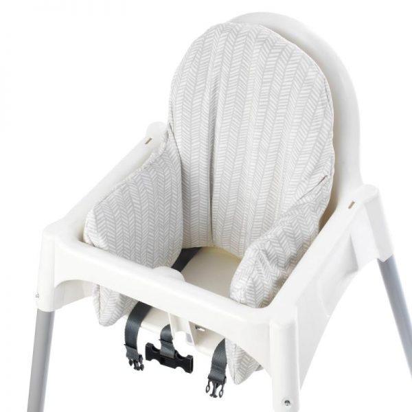 Bantal Kursi untuk Ikea Antilop – Grey