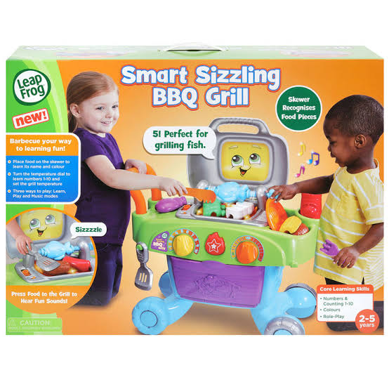 Toys Leapfrog Smart Sizzling BBQ Grill