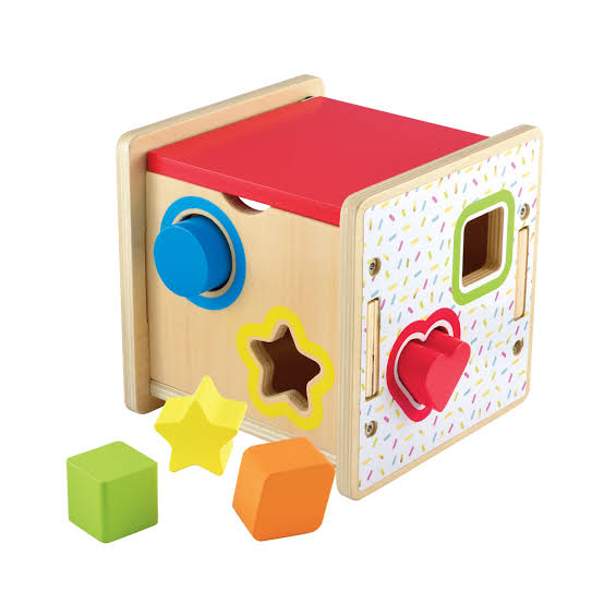 Toys ELC Wooden Shape Sorter