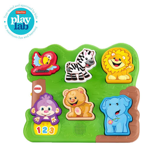 Toys Fisher Price Laugh & Learn Zoo Animal Puzzle
