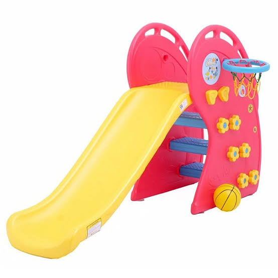 Toys Labeille Whale Slide – Red
