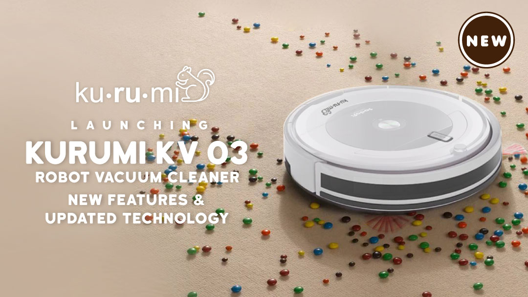 Health Kurumi Vacuum Robot KV 03 – White