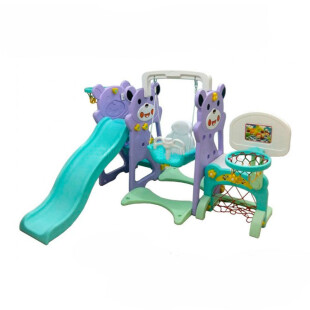 Toys Labeille Panda 5 in 1 Slide & Play Center – Purple