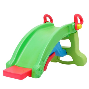 Toys Labeille Froggy 2 in 1 Slide to Rocker – Green