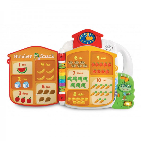 Toys LeapFrog Tad's Get Ready for School Book