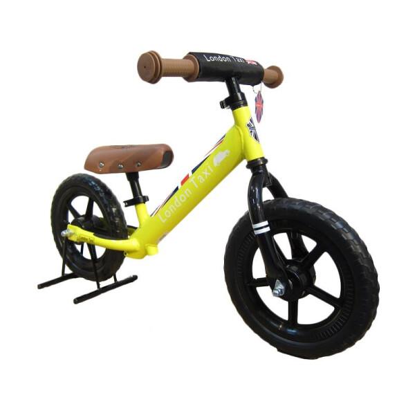 Balance Bike London Taxi Kick Bike – Yellow