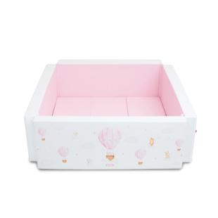 Lumba Playground 10cm – Hot Air Balloon Pink (DISKON – Ada Noda Bagian Bawah)