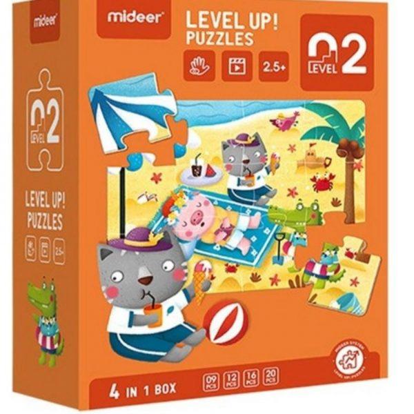 Mideer Advance Level 2 Puzzle – Season (4 box) 3