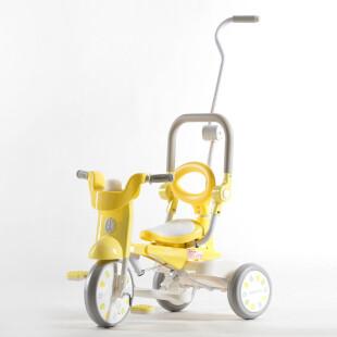 Toys IIMO Tricycle 02 Folding Macaroon – Yellow