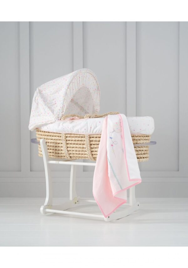Nursery Mothercare Confetti Party Moses Basket