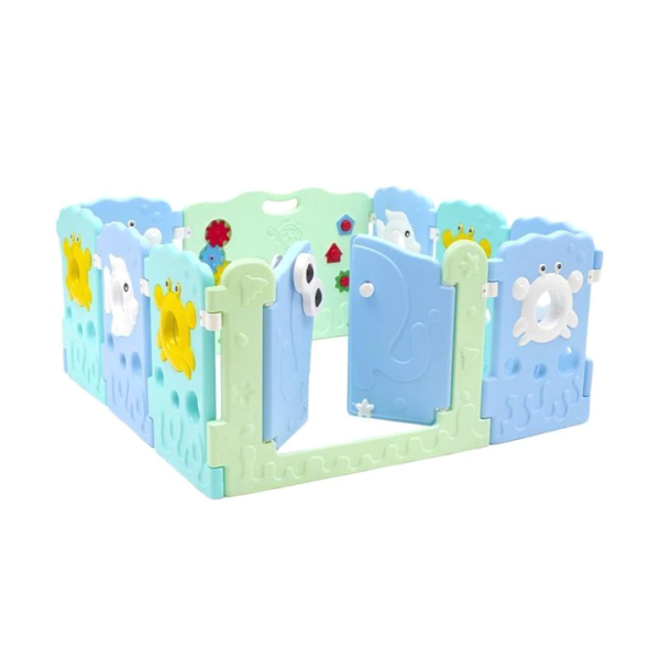 Safety Labeille Ocean Play Fence 8+2