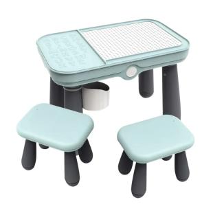 Parklon Multifunctional Blocks Lego Table – Blue (Include Lego Blocks)