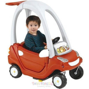 Toys Paso Smart Coupe Dark Red Ride-On