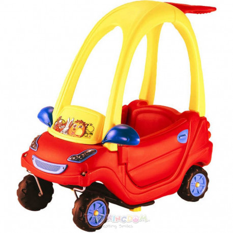 Toys Paso Smart Coupe Red Ride-On