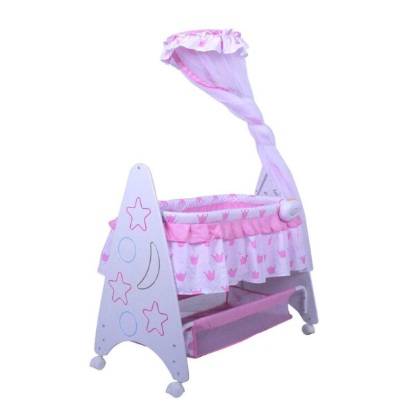 Nursery Pliko B161R Deluxe Baby Box Tempat Tidur Bayi – Pink