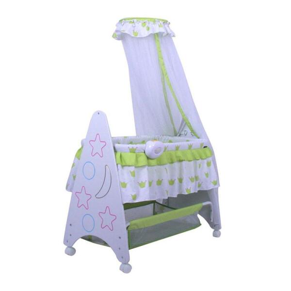 Nursery Pliko B161R Deluxe Baby Box Tempat Tidur Bayi – Green
