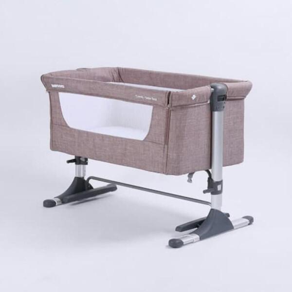BabyDoes CH-165-BP Mini Comfi Side Bed Baby Box – Khaki 6