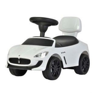 Pliko Ride On Mobil Maserati  – White