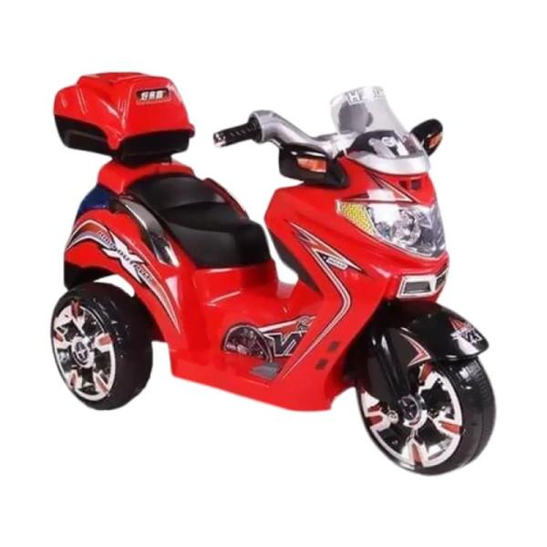 Toys Pliko Motor Aki – Vespa Scoopy Red