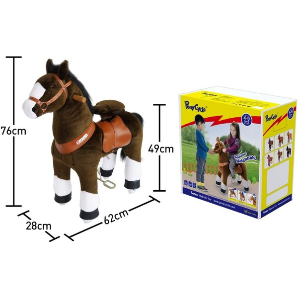 PonyCycle Horse – Brown 2