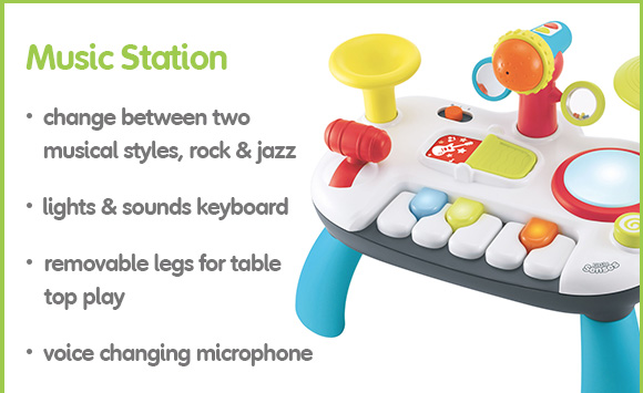 Toys ELC Little Senses Lights and Sounds Music Station