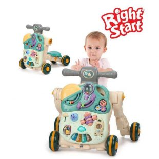 Right Start 5 in 1 Musical Activity Push Walker – Cactus Green