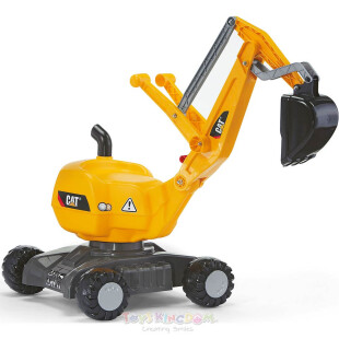 Toys Rolly Toys Digger Excavator Ride On – CAT
