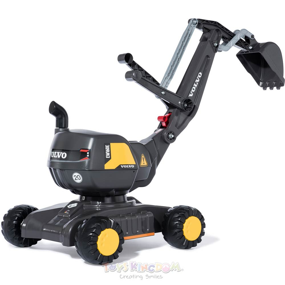 Toys Rolly Toys Digger Excavator Ride On – Volvo