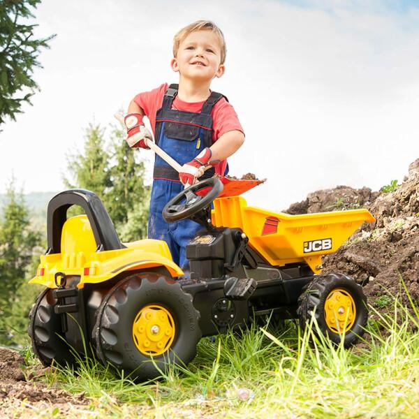 Toys Rolly Toys Pedal Dumper Ride On – JCB