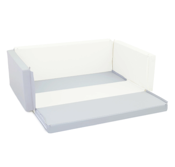Safety Lumba Playmat Bumperbed 7.5cm – Scandinavian White